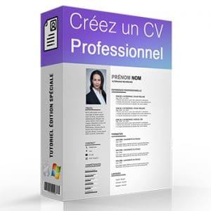 Formation créer un CV