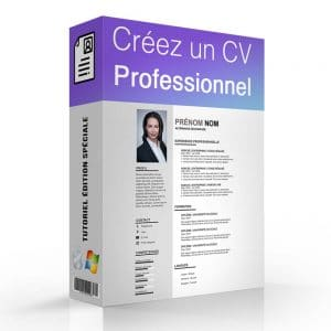 Site de Formation en ligne : Créer un CV