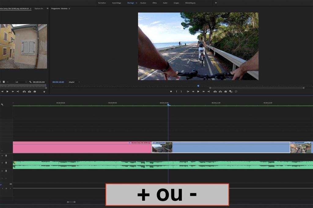 meilleurs raccourcis sur Adobe premiere pro-tuto