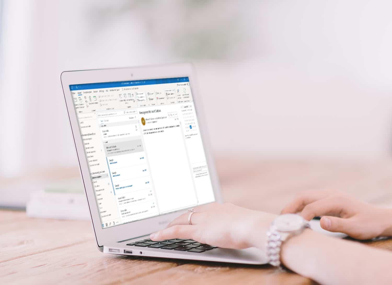 Créer une archive Outlook