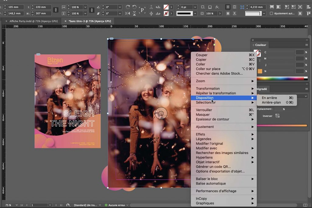 Formation Adobe Indesign initiation