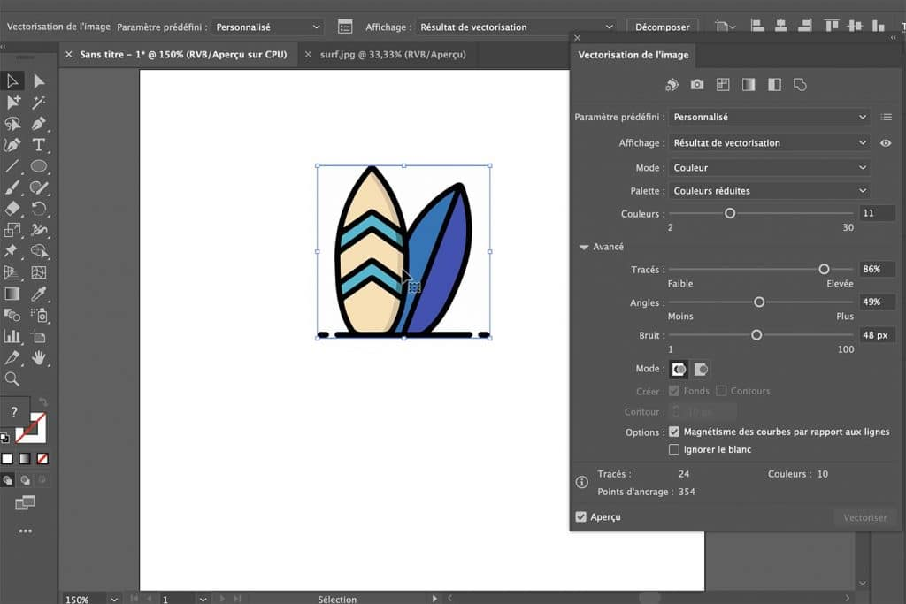formation Adobe illustrator initiation