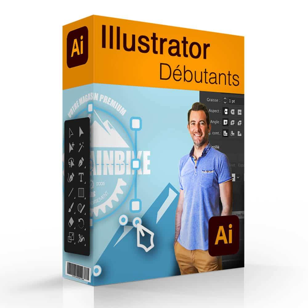 Formation en ligne Illustrator