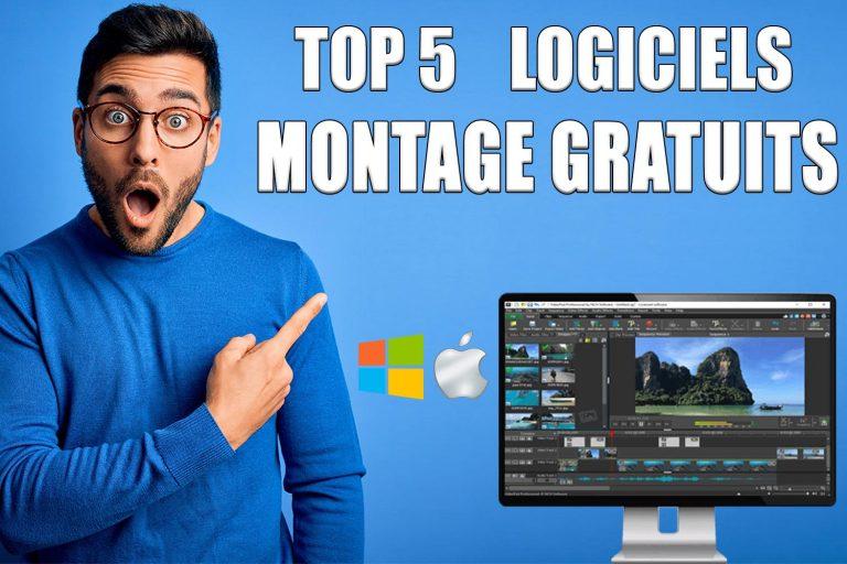 TOP 5 Des Meilleurs logiciels de Montage Vidéo Gratuits