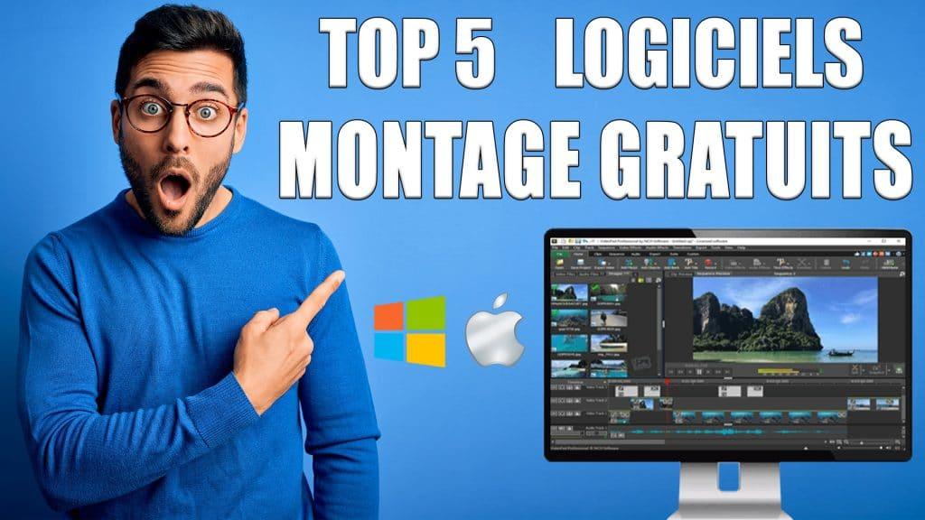 TOP 5 Meilleurs logiciels de Montage Vidéo Gratuits