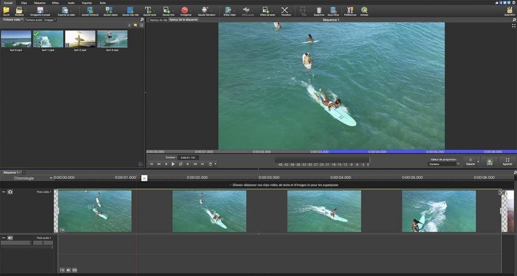Top 5 Meilleurs logiciels de montage vidéo gratuits - logiciels de Montage Vidéo Gratuits