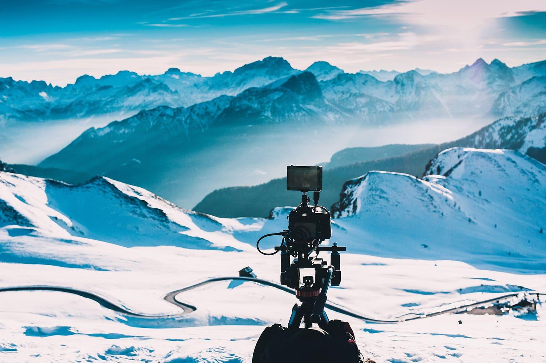 Quelle résolution vidéo pour filmer paysage neige