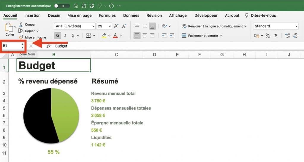 Tuto Excel débutant - Apprendre à utiliser Excel