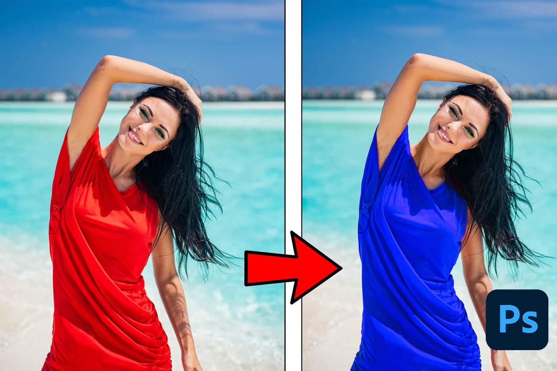 changer la couleur d'un objet sur photoshop