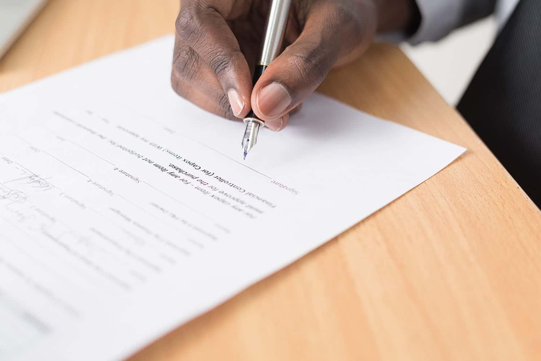 Faire une signature sur Word