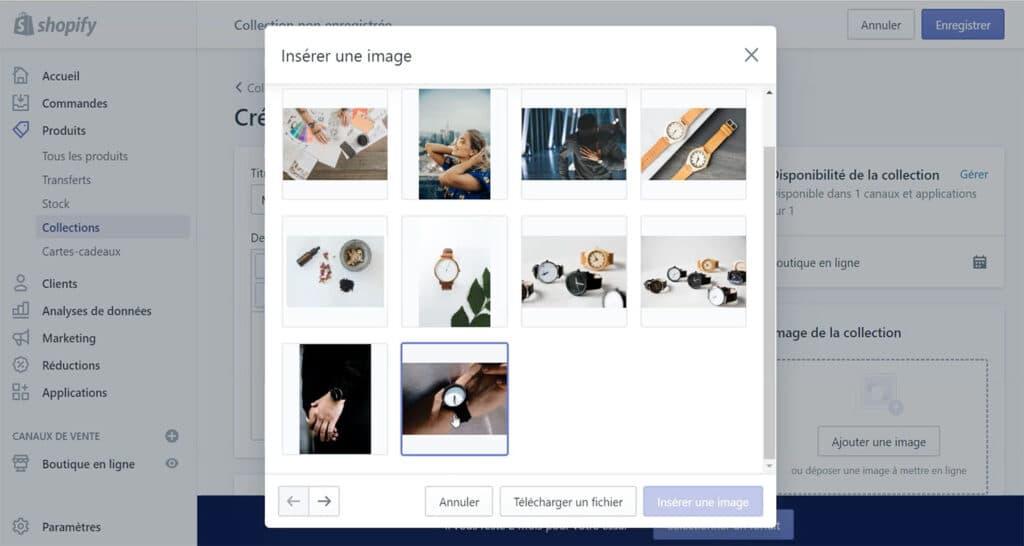 Apprendre comment mettre toutes les images au même format sur Shopify