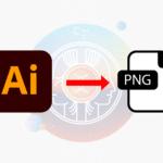 Comment enregistrer au format png avec Illustrator et fond transparent