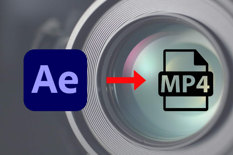 Comment exporter en format mp4 sur After Effects
