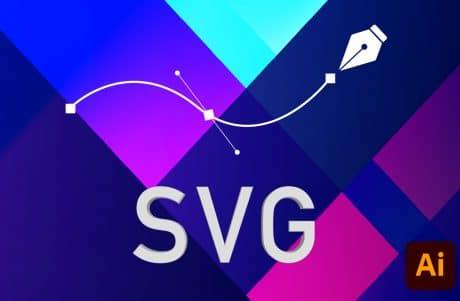 Comment exporter un SVG sur Illustrator