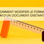 Comment changer le format cm d'un doc existant sur Illustrator ?